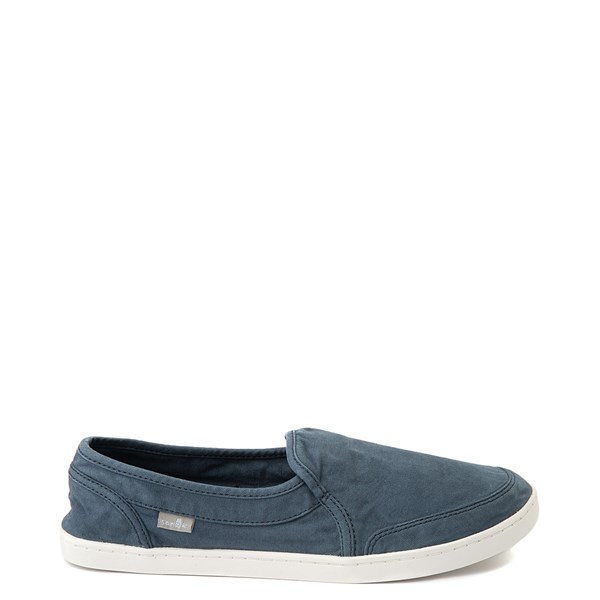 Womens Sanuk Pair O Dice Slip On Casual Shoe - Navy