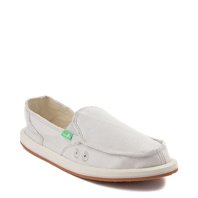 Alternate view of Womens Sanuk Donna Hemp Slip On Casual Shoe - Cream
