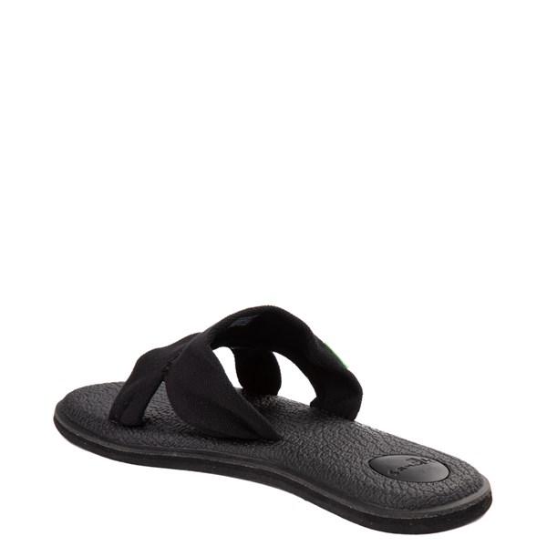 alternate view Womens Sanuk Yoga Mat Capri Knit Slide SandalALT2