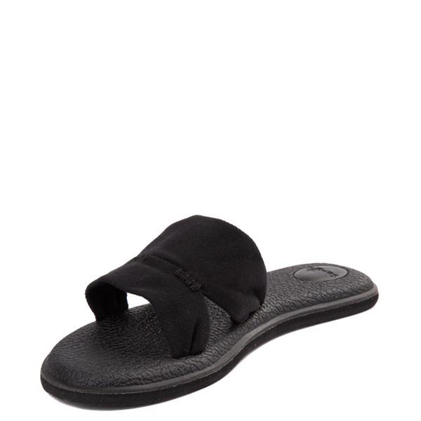 alternate view Womens Sanuk Yoga Mat Capri Knit Slide SandalALT3