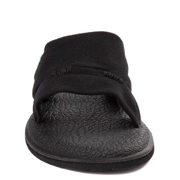 alternate view Womens Sanuk Yoga Mat Capri Knit Slide SandalALT4