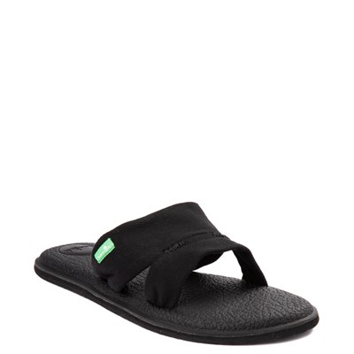 Alternate view of Womens Sanuk Yoga Mat Capri Knit Slide Sandal