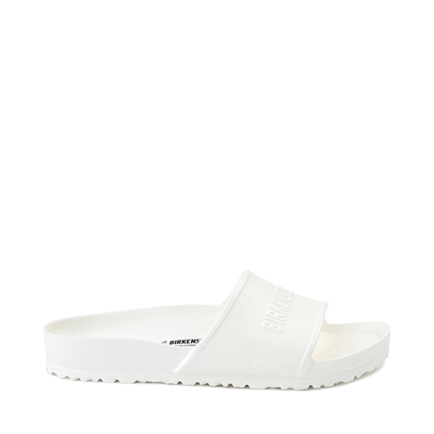 Main view of Mens Birkenstock Barbados EVA Slide Sandal - White