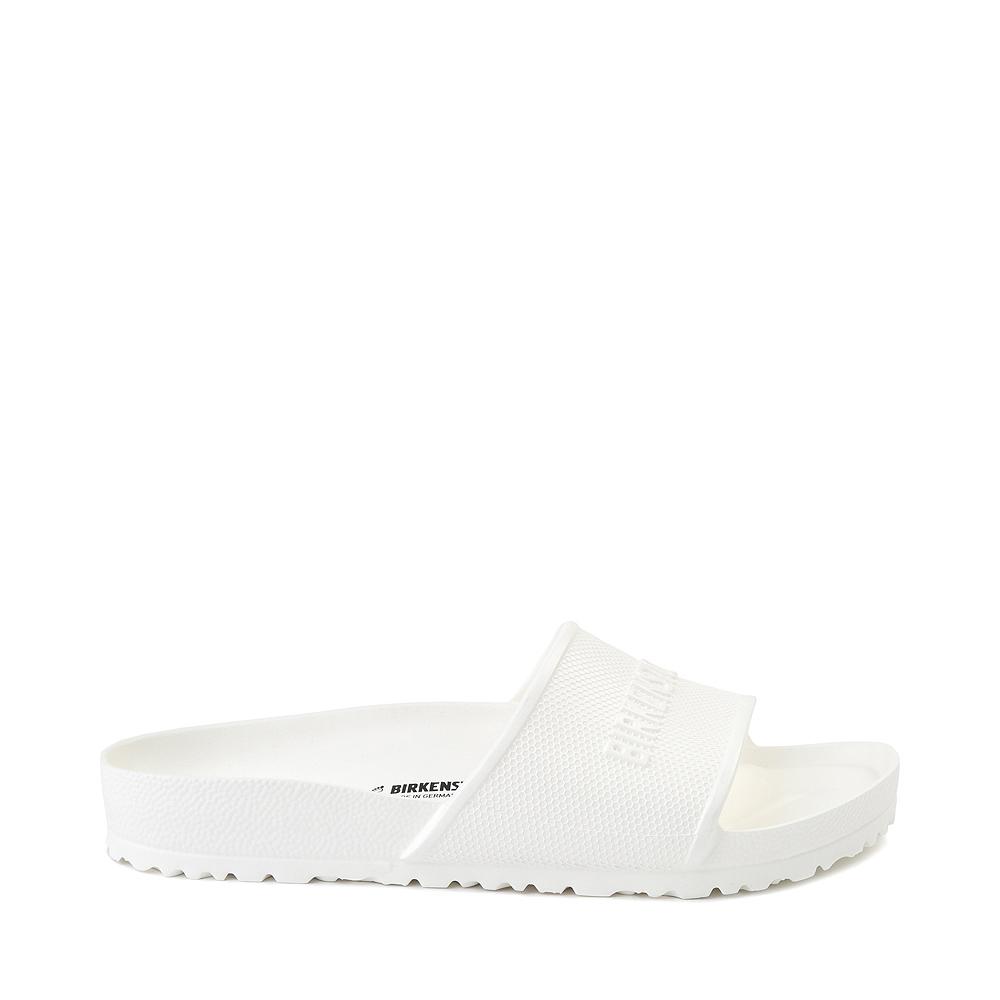 Mens Birkenstock Barbados EVA Slide Sandal - White
