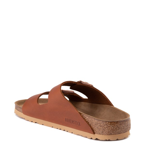 alternate view Mens Birkenstock Arizona Sandal - CognacALT2