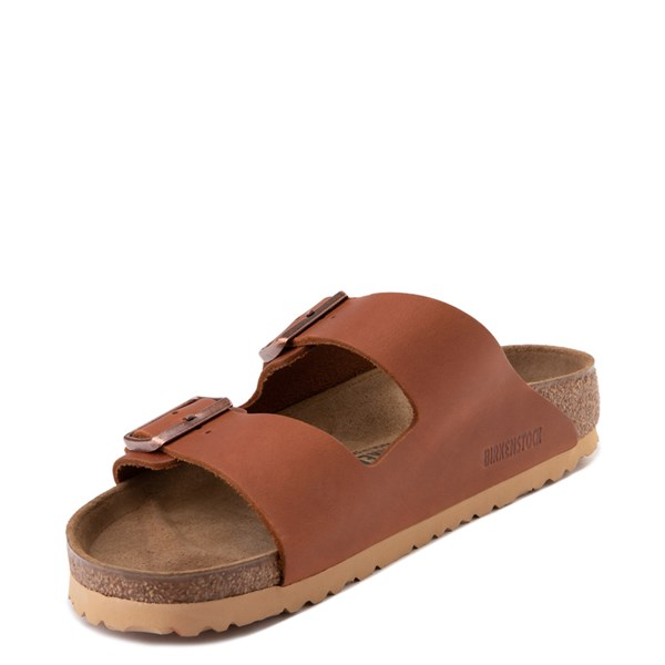 alternate view Mens Birkenstock Arizona Sandal - CognacALT3