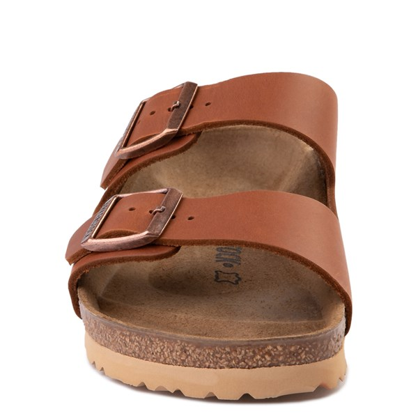 alternate view Mens Birkenstock Arizona Sandal - CognacALT4