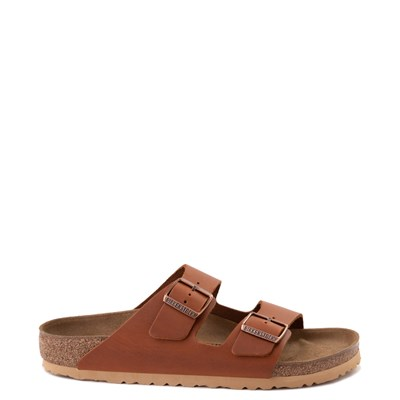 Main view of Mens Birkenstock Arizona Sandal - Cognac