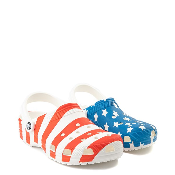 alternate view Crocs Classic American Flag ClogALT1