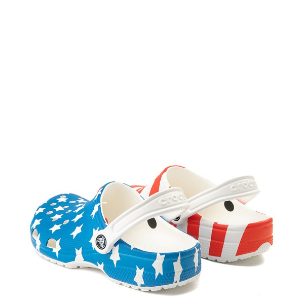 alternate view Crocs Classic American Flag ClogALT2