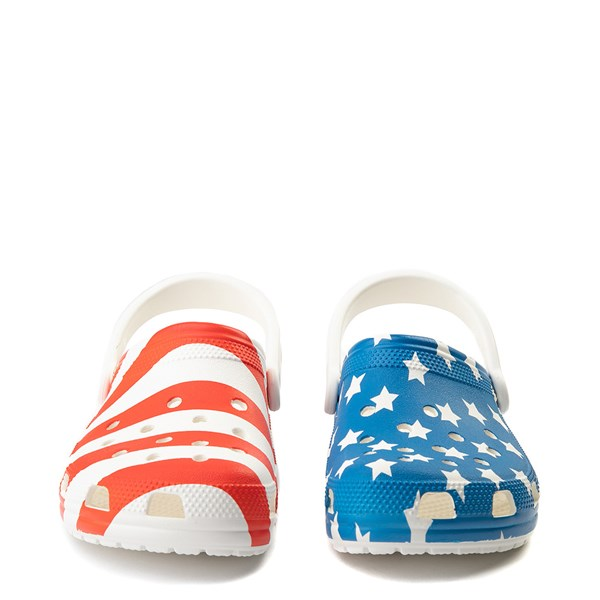alternate view Crocs Classic American Flag ClogALT4