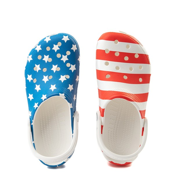 alternate view Crocs Classic American Flag ClogALT6
