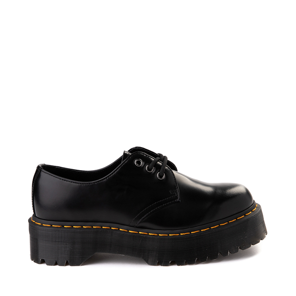 Main view of Dr. Martens 1461 Platform Casual Shoe - Black
