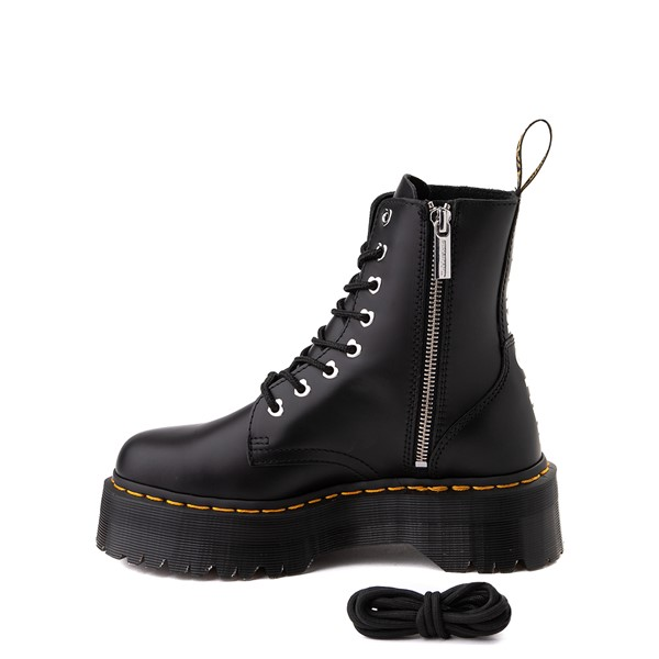 alternate view Womens Dr. Martens x Hello Kitty® Jadon Boot - BlackALT1