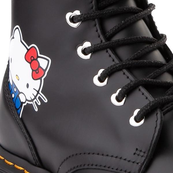 alternate view Womens Dr. Martens x Hello Kitty® Jadon Boot - BlackALT7
