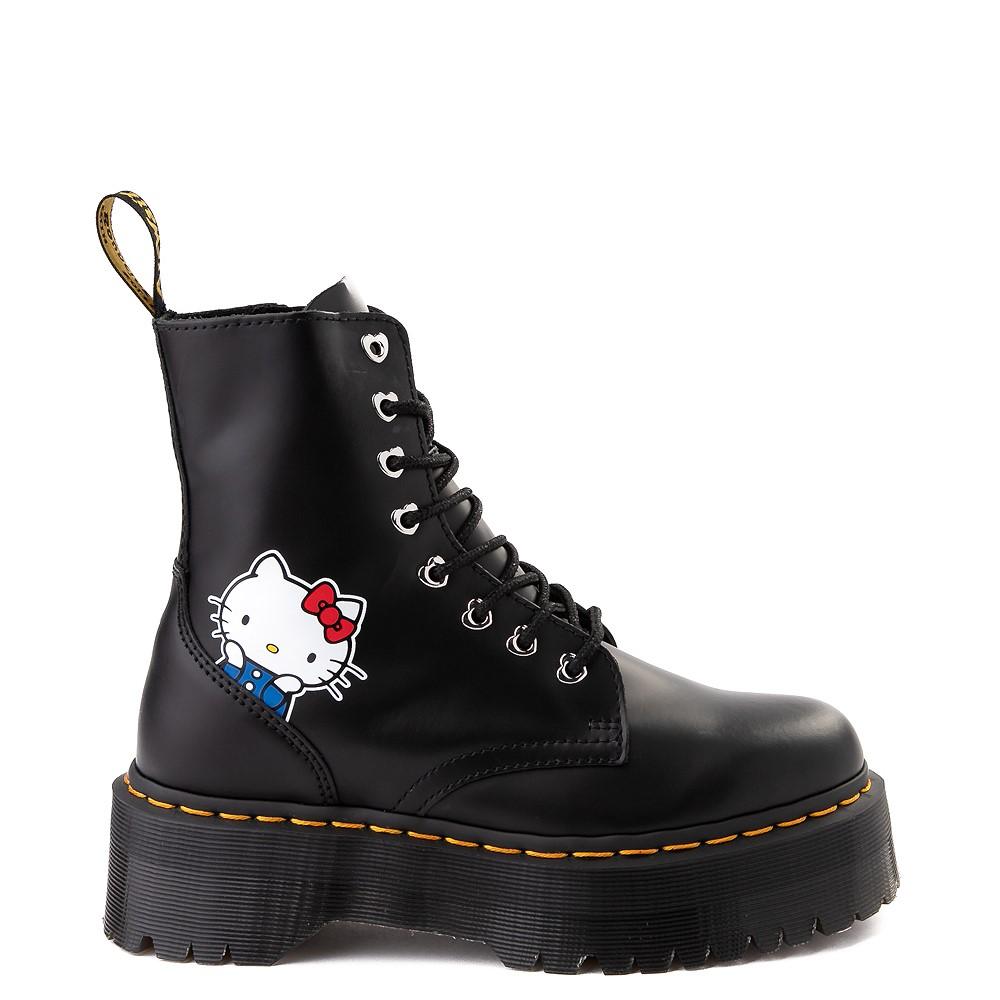 Womens Dr. Martens x Hello Kitty® Jadon Boot - Black