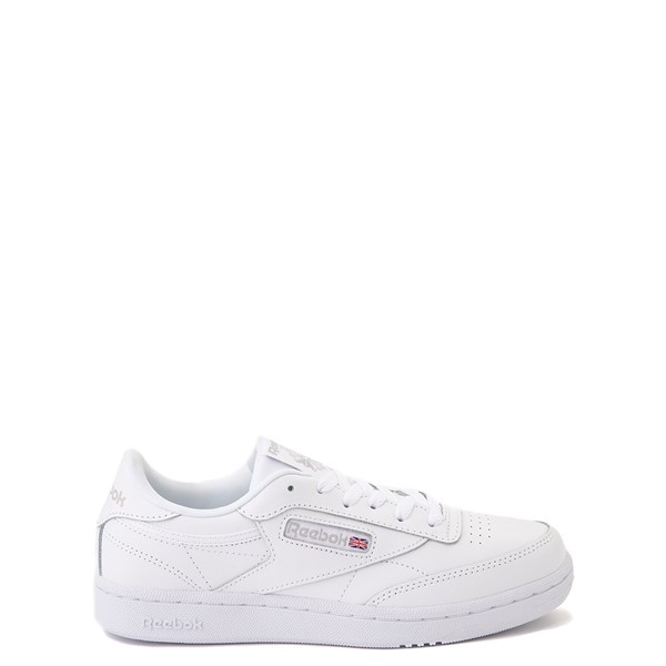 Main view of Reebok Club C Athletic Shoe - Big Kid - White Monochrome