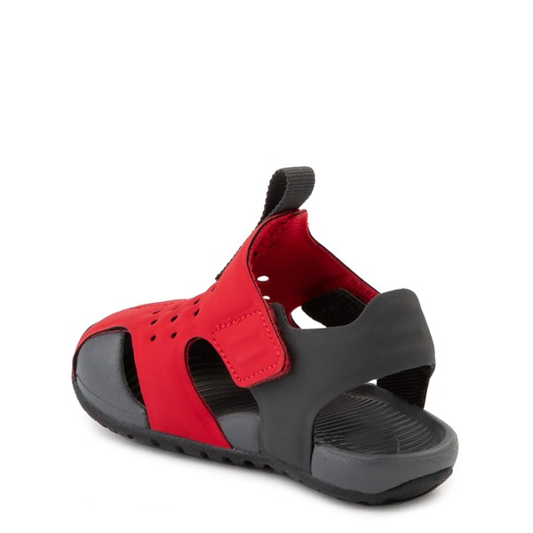 alternate view Nike Sunray Protect Sandal - Baby / Toddler - Red / AnthraciteALT2