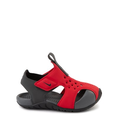 Main view of Nike Sunray Protect Sandal - Baby / Toddler - Red / Anthracite