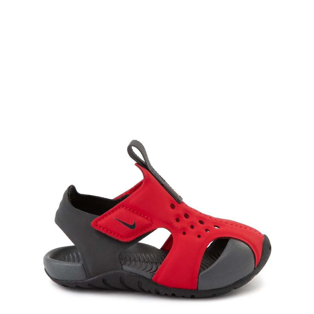 Nike Sunray Protect Sandal - Baby / Toddler - Red / Anthracite