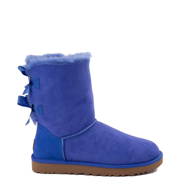 Womens UGG® Bailey Bow II Boot - Deep Periwinkle