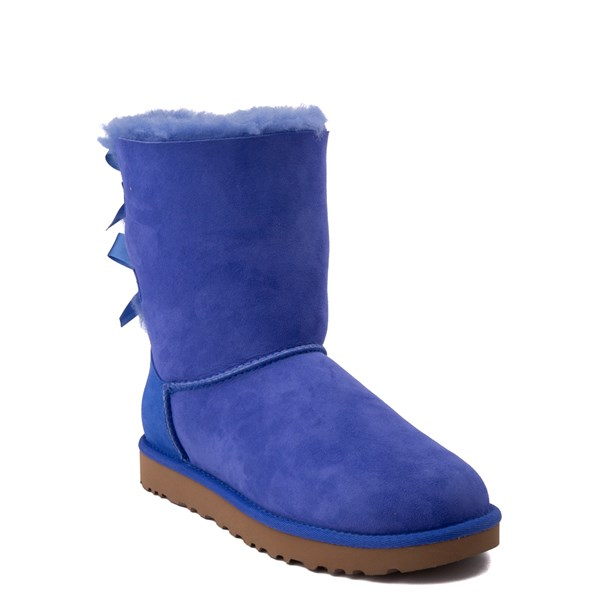 alternate view Womens UGG® Bailey Bow II Boot - Deep PeriwinkleALT1