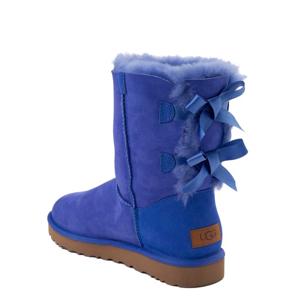 alternate view Womens UGG® Bailey Bow II Boot - Deep PeriwinkleALT2
