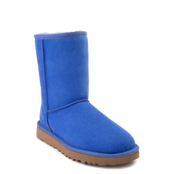 alternate view Womens UGG® Classic Short II Boot - BlueALT1