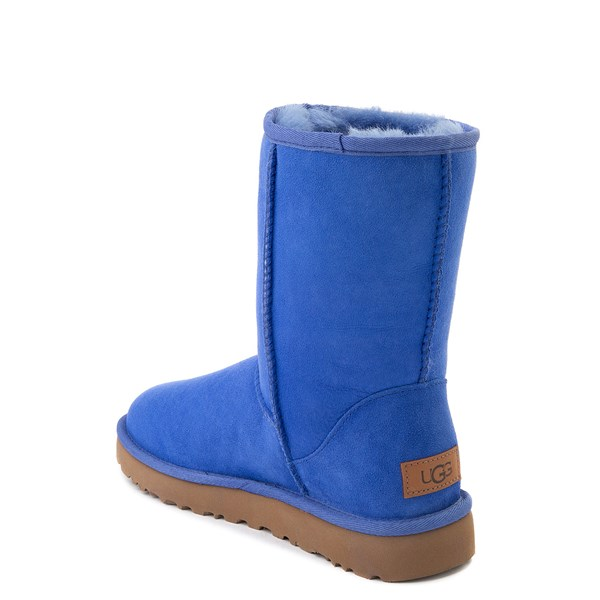 alternate view Womens UGG® Classic Short II Boot - BlueALT2