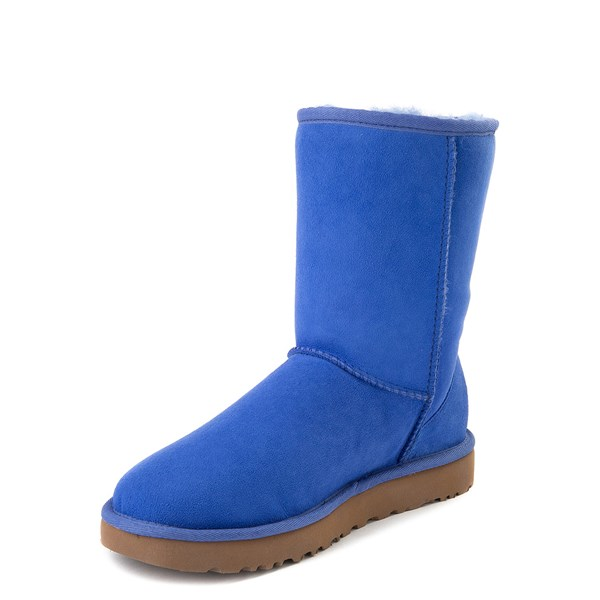 alternate view Womens UGG® Classic Short II Boot - BlueALT3