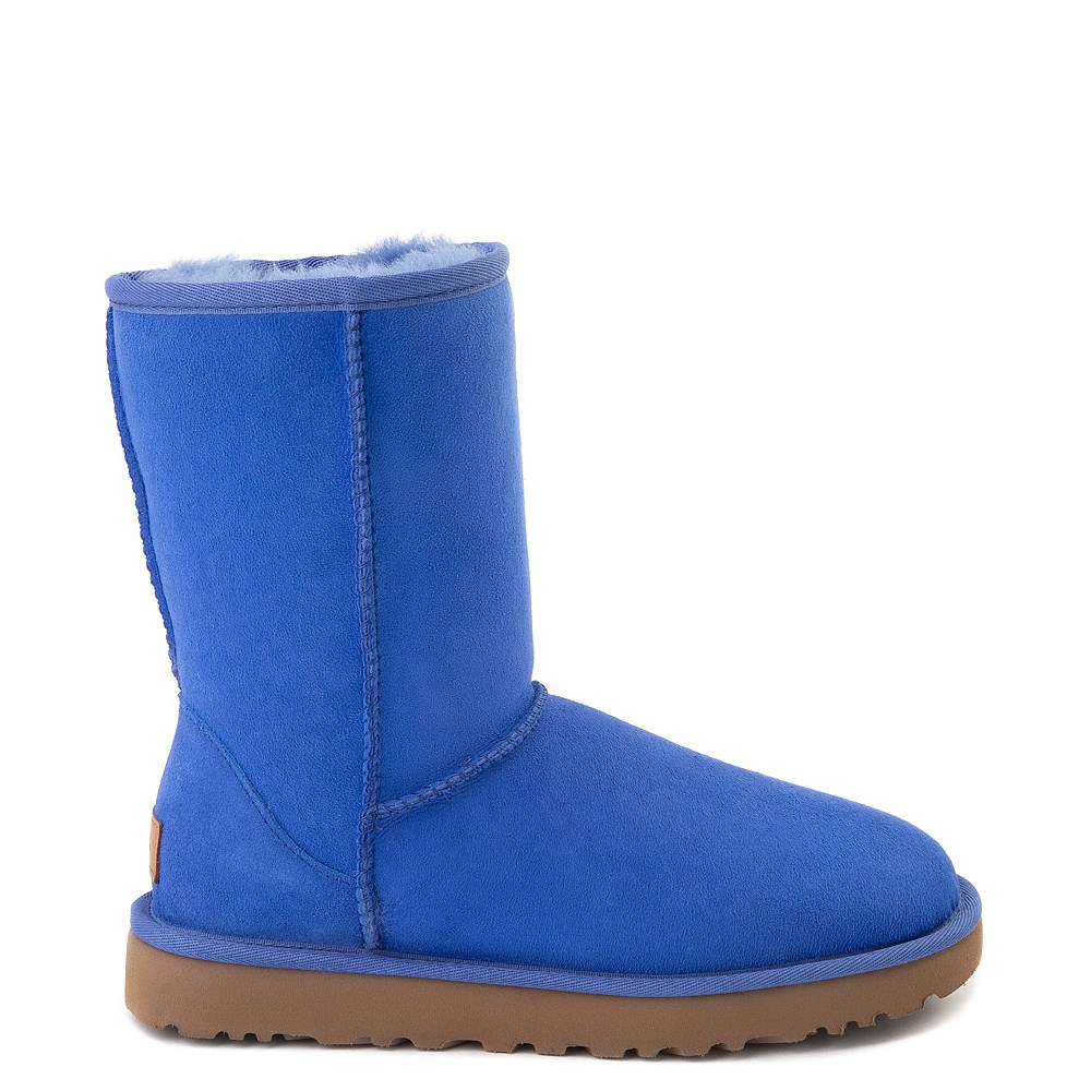 Womens UGG® Classic Short II Boot - Blue