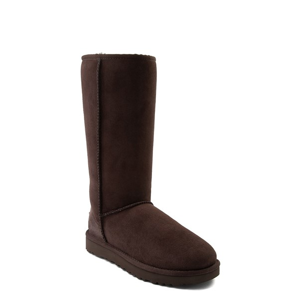 alternate view Womens UGG® Classic Tall II Boot - ChocolateALT1