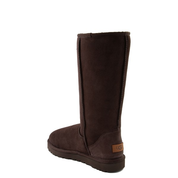 alternate view Womens UGG® Classic Tall II Boot - ChocolateALT2
