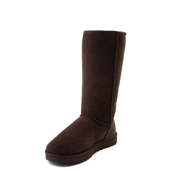 alternate view Womens UGG® Classic Tall II Boot - ChocolateALT3