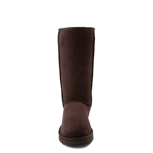 alternate view Womens UGG® Classic Tall II Boot - ChocolateALT4