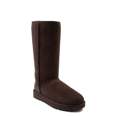 Alternate view of Womens UGG® Classic Tall II Boot - Chocolate