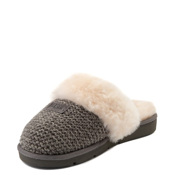 alternate view Womens UGG® Cozy Knit SlipperALT3