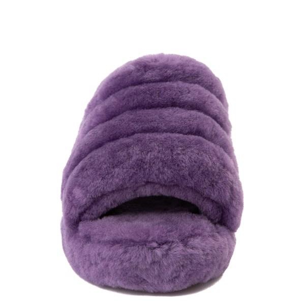 alternate view Womens UGG® Fluff Yeah Slide Sandal - VioletALT4