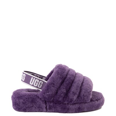 Main view of Womens UGG® Fluff Yeah Slide Sandal - Violet