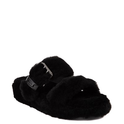Alternate view of Womens UGG® Fuzz Yeah Slide Sandal