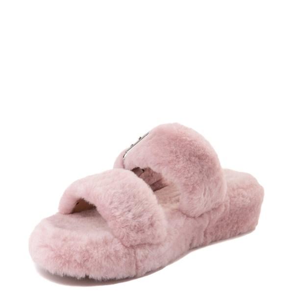 alternate view Womens UGG® Fuzz Yeah Slide SandalALT3