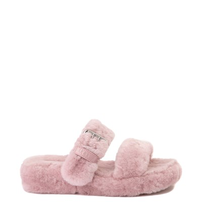 Main view of Womens UGG® Fuzz Yeah Slide Sandal