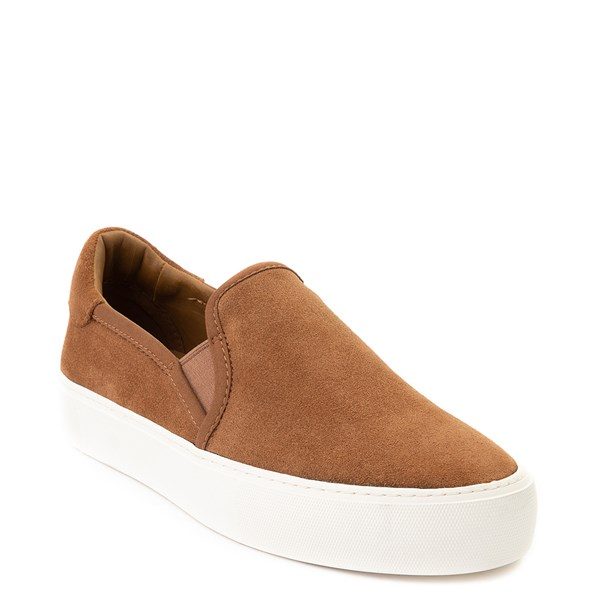 alternate view Womens UGG® Jass Slip On Casual Shoe - ChestnutALT1