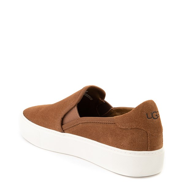 alternate view Womens UGG® Jass Slip On Casual Shoe - ChestnutALT2