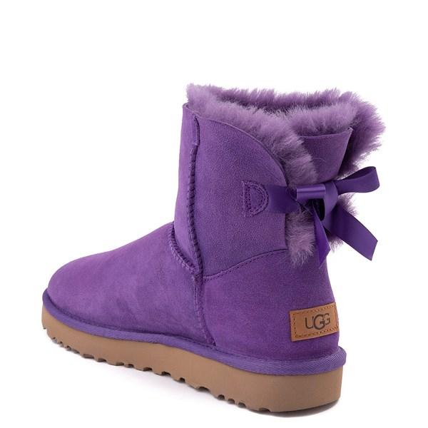 alternate view Womens UGG® Mini Bailey Bow II Boot - Violet BloomALT2