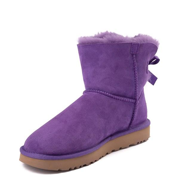 alternate view Womens UGG® Mini Bailey Bow II Boot - Violet BloomALT3
