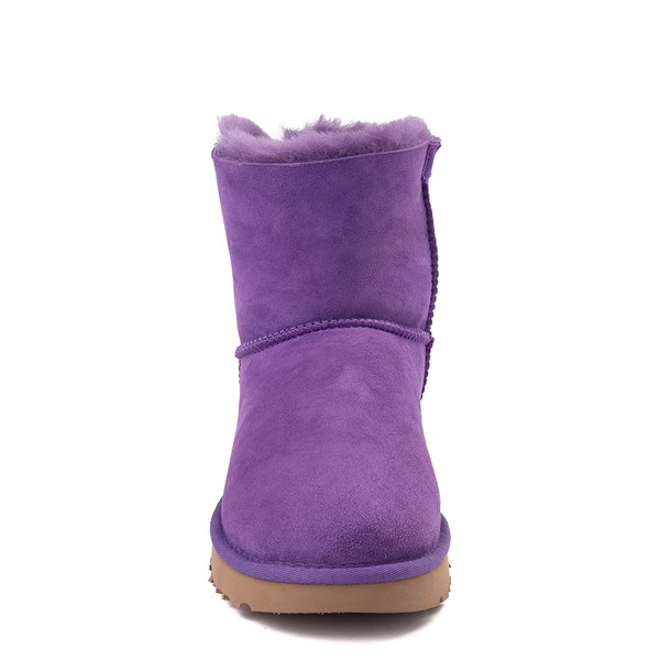alternate view Womens UGG® Mini Bailey Bow II Boot - Violet BloomALT4