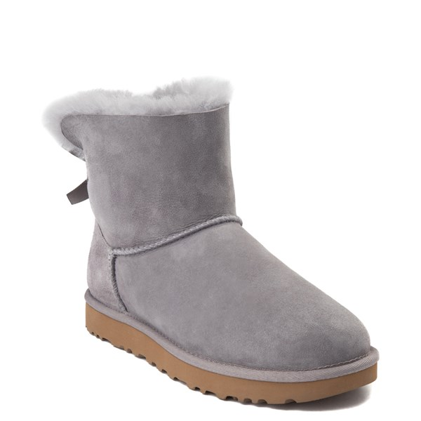 alternate view Womens UGG® Mini Bailey Bow II Boot - Soft AmethystALT1