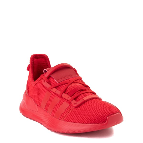 alternate view adidas U_Path Run Athletic Shoe - Little Kid - Scarlet MonochromeALT1