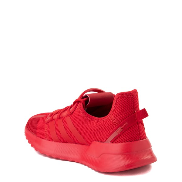 alternate view adidas U_Path Run Athletic Shoe - Little Kid - Scarlet MonochromeALT2